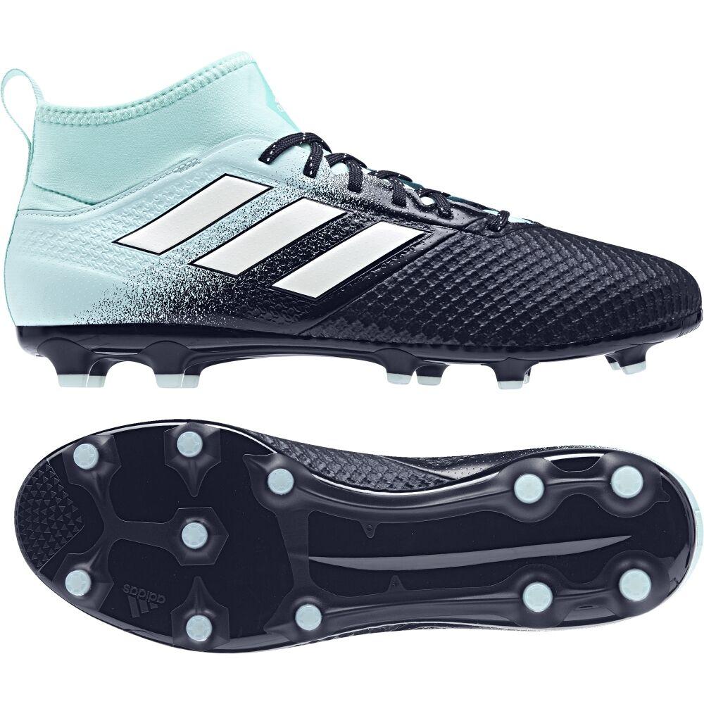 Adidas ACE 17.3 Primemesh AG Sohle Fußballschuh Fußballschuh Fußballschuh S77063 weiß-schwarz-aquamint c4d324