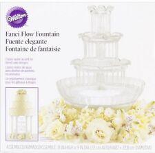 Wilton 306-1147 Fanci Flow Wedding Cake Fountain Decor Party Cupcake Round Tier