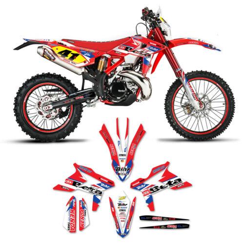 2013-2018 Beta 300 RR Motocross Dirt Bike Graphics Kit Decals