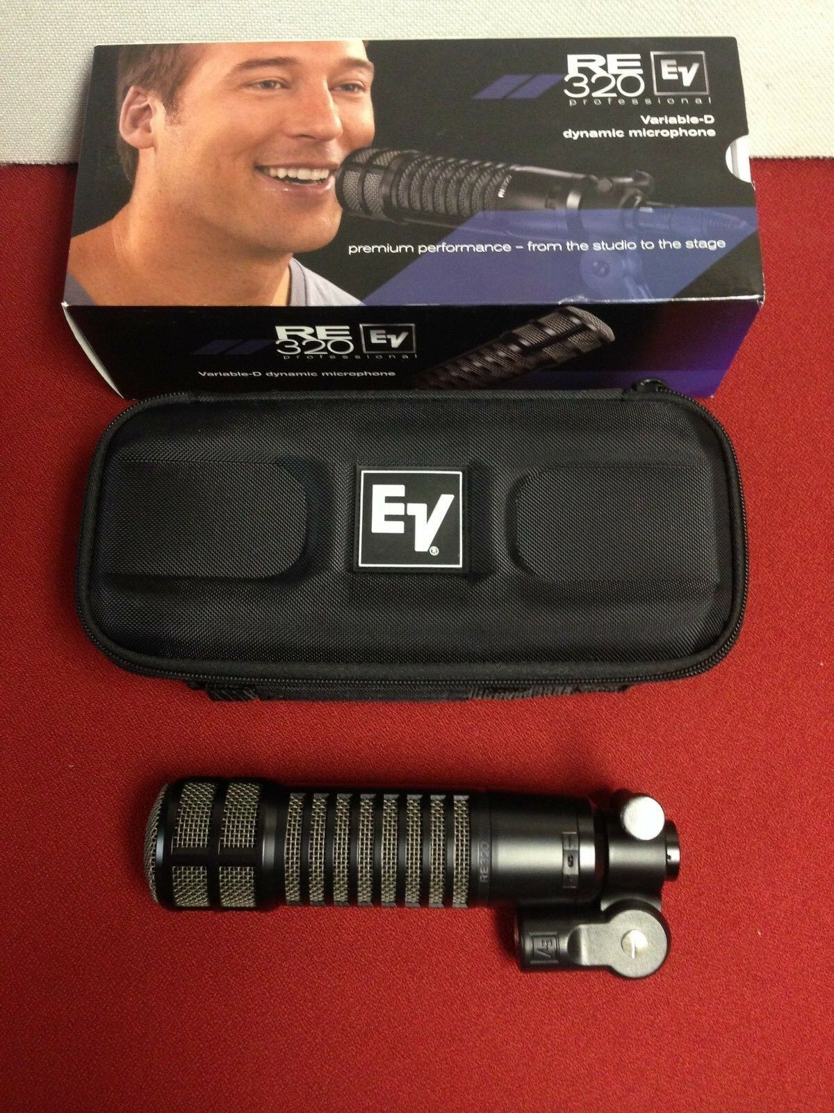 EV RE320 CARDIOID DYNAMIC MIC FREE SHIPPING  RE 320 Electro Voice RE-320