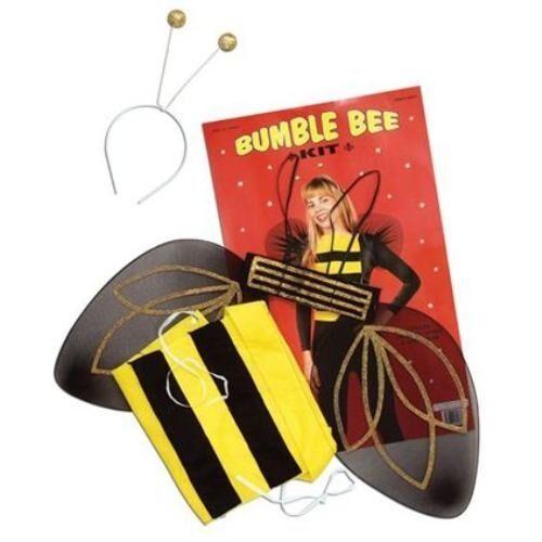 Bumble Bee Headboppers Wings Womens Girls Fancy Dress Costume Hen Night