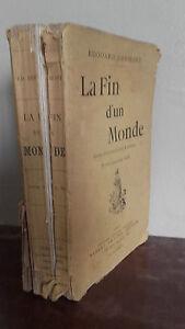 1889-E-Drumont-La-Fin-D-Un-Monde-Etude-Psyco-y-Social-A-Savine-Pin-M-E