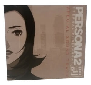 PERSONA2 ETERNAL PUNISHMENT ORIGINAL SOUNDTRACK Japan Game Music 5 CD Set