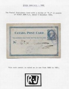 1880-Canada-Postal-Stationery-Card-River-John-Nova-Scotia-to-Picton-Ontario
