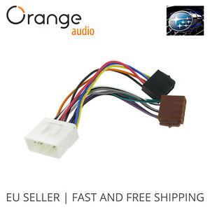 wiring lead harness adapter for subaru forester iso stereo plug rh ebay com