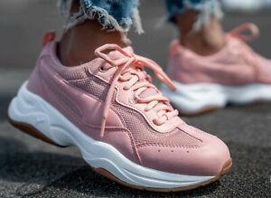 Puma Cilia Women's Trainers Pink | eBay