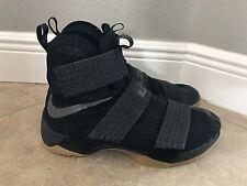 Nike Lebron Soldier 10 SFG Black Gum Bottom SZ 13