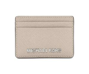 232d9428eeb6 Image is loading Michael-Kors-Jet-Set-Travel-Card-Holder-Cement