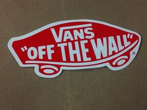 Details about Vans Stickers FREE SHIPPING On 4 Or More