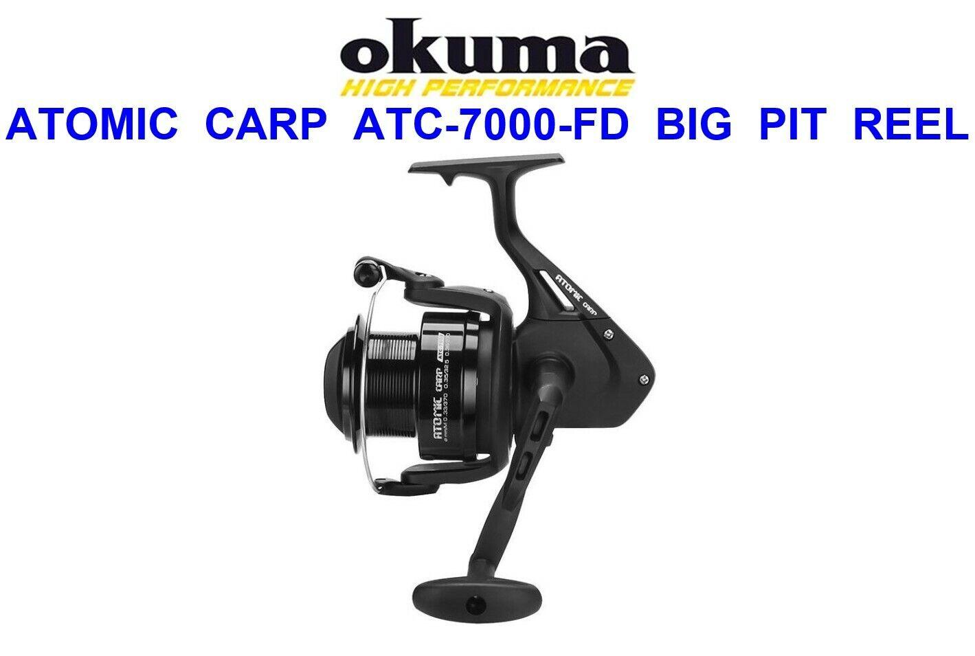 Okuma Atomic Carp ATC-7000 Reel Front Drag