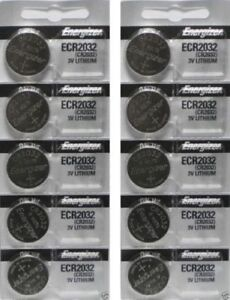 Lote-de-10-pc-Energizer-CR2032-Pilas-De-Reloj-3-V-De-Litio-CR-2032-DL2032-BR2032