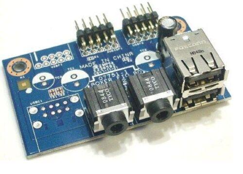 Emachines EL1200  USB Audio I//O Board 48.3V002.011 Acer 55.SAR01.001
