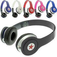 Foldable Stereo DJ Style Headphones Earphone Headset Over Ear MP3/4 IPOD