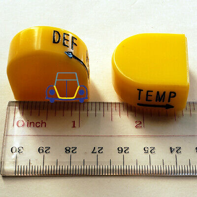 Ghia Heater /& Defroster Knobs VW Beetle FREE SHIP!! Super Beetle NEW Thing