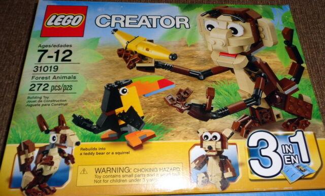 LEGO Creator 31021 Furry Creatures 3 in 1 Factory