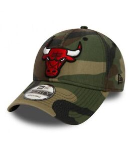 NEW ERA 9FORTY NBA WASHED CAMO CHICAGO BULLS GORRA ORIGINAL 80580940 ... d4e05788cab
