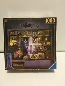 New Sealed Disney Villainous Evil Queen 1000 Pc Puzzle Ravensburger Snow White