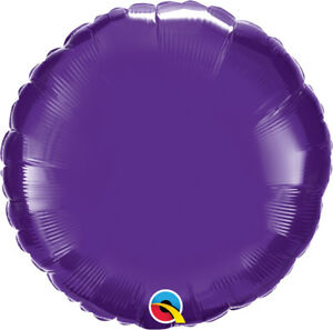 PURPLE-ROUND-BALLOON-18-034-METALLIC-PURPLE-PLAIN-QUALATEX-FOIL-BALLOON