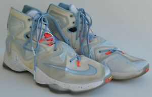 cheap for discount 5f59e 55dee Image is loading Nike-Lebron-James-XIII-Fire-amp-Ice-Mens-