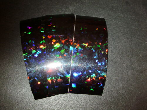 "2/"" x 6/"" 3 PK Flasher//Dodger//Reflective Cracked Ice Holographic Fishing Lure Tape"