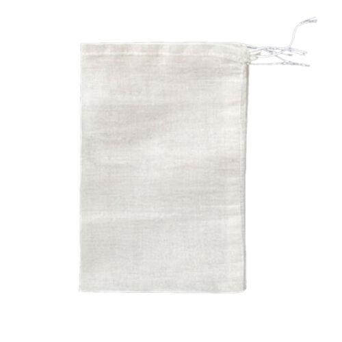 10Pc 8x10cm Large Cotton Muslin Drawstring Reusable Bags for Soap Herbs Tea 9UK
