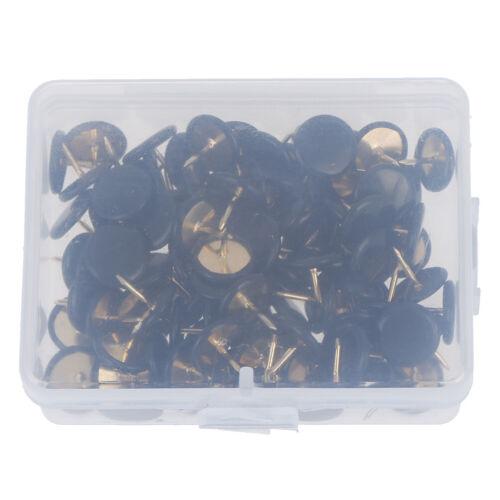 Coloured Drawing Pins 10mm Single Colours /& Assorted Thumb Tacks x100PHC