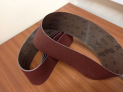 5 100 x 610mm  SIA 2920 Material P80 SiaWood Abrasive Belts  Pack