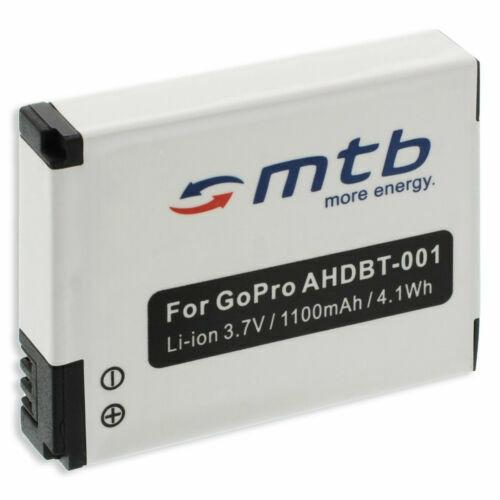 Akku ABPAK-001, AHDBT-001 für GoPro Go Pro HD Hero, Motorsports Hero