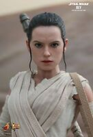 Rey Hot Toys 1/6 Figure Star Wars Force Awakens Daisy Ridley In Stock Sale