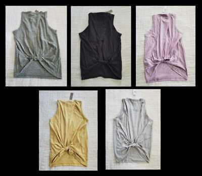 Black XS,S,M,L,XL NWT J Crew Women/'s Tie Back Tank Top XXS