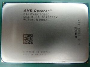 6-x-AMD-Opteron-Processor-CPU-6174-OS6174WKTCEGO-12-Core-2-2GHz-115w-JOB-LOT