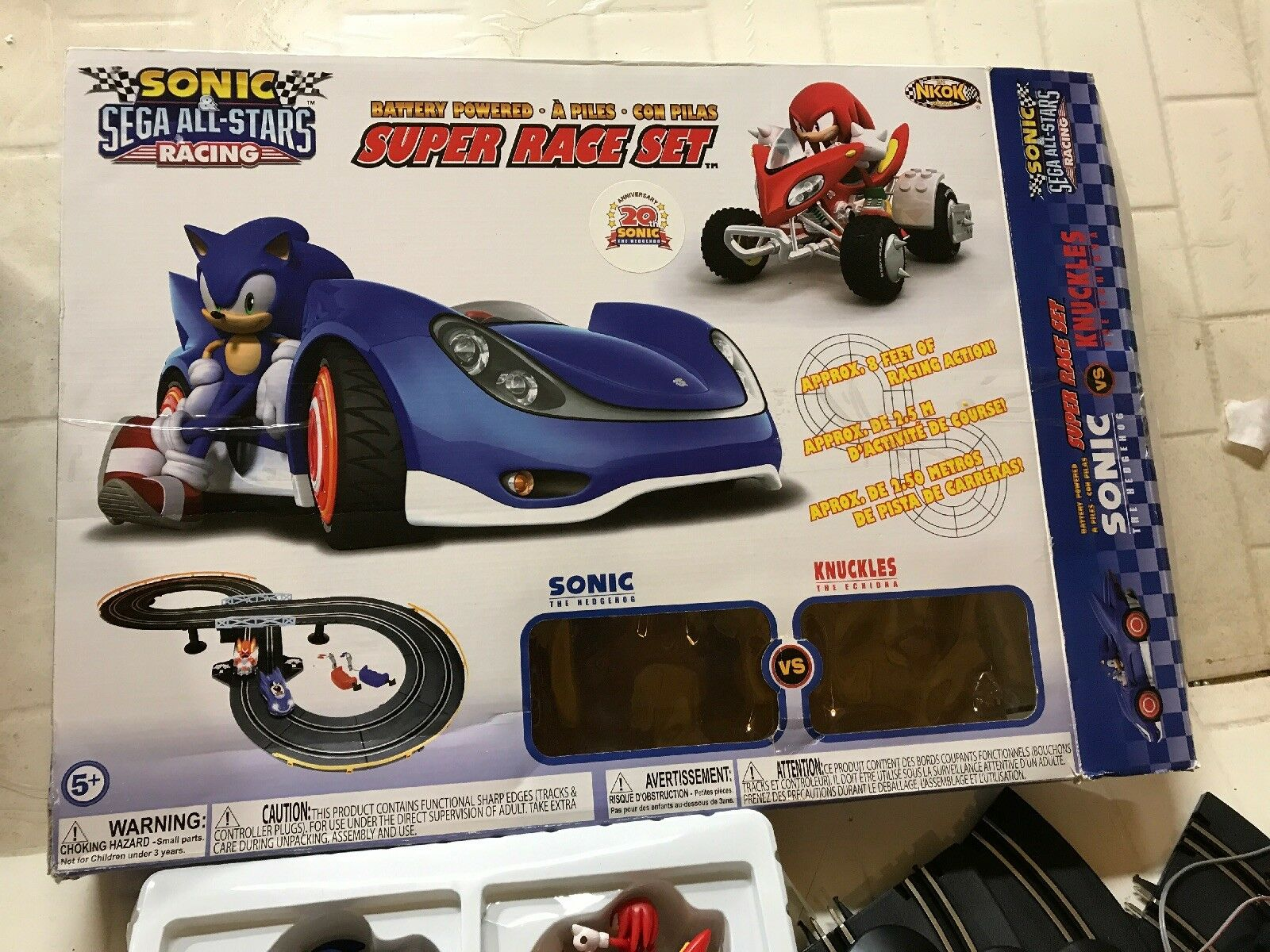 Sonic All All All Star Road Race Set. 31c295