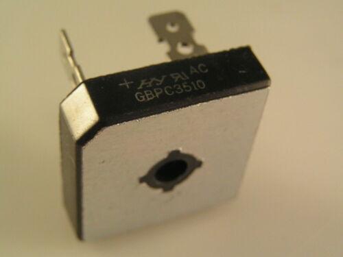 International Rectifier GBPC 3510 Puente Rectificador 35A 1000V OM0376