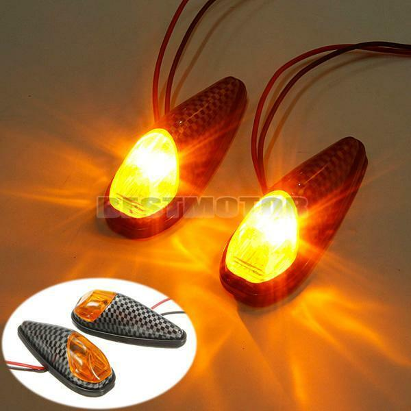 UNIVERSAL 5W LED MOTORBIKE MOTORCYCLE TURN SIGNAL LIGHT INDICATOR LAMP BLINKER