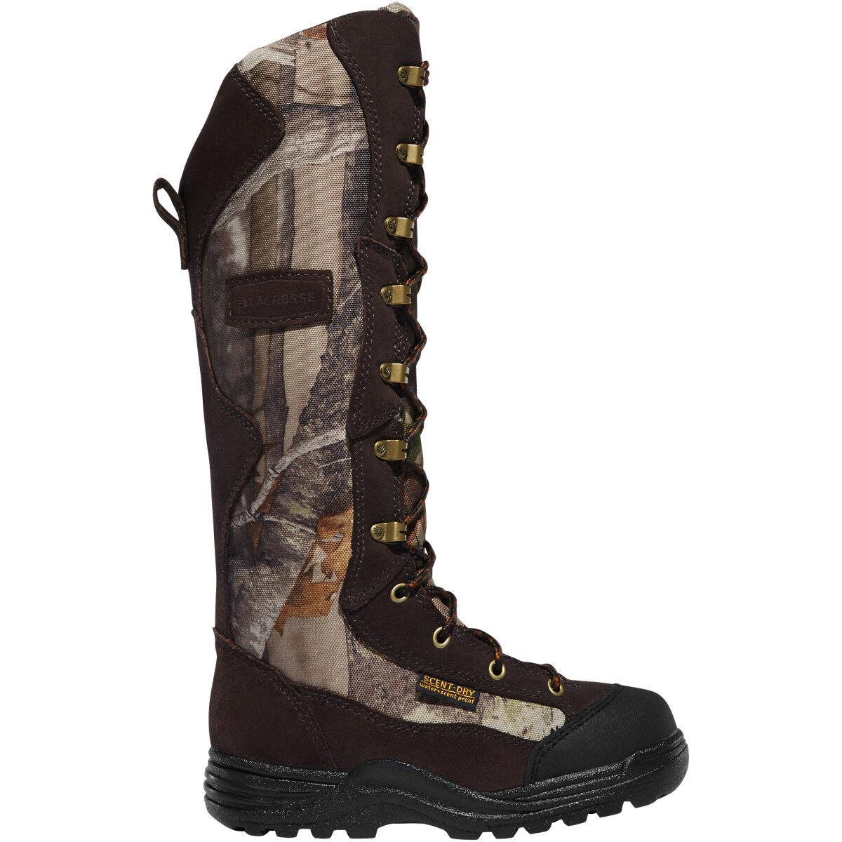 Lacrosse Youth 425600 Venom 12  próximo G-1 verde Niños Camo botas de caza de serpiente