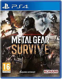 METAL GEAR SURVIVE PS4 EU - PLAYSTATION 4 - KONAMI - DLC SURVIVAL PACK