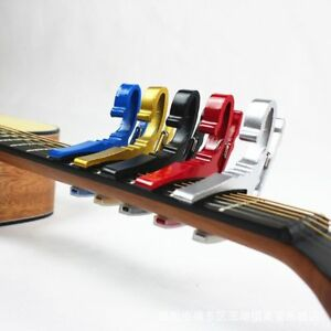 Quality-Key-Trigger-Guitar-Clamp-Capo-Electric-Tune-Electric-Acoustic