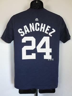 l 14/16 Gary Sánchez #24 New York Yankees Jugendliche L New-flaw Shirt