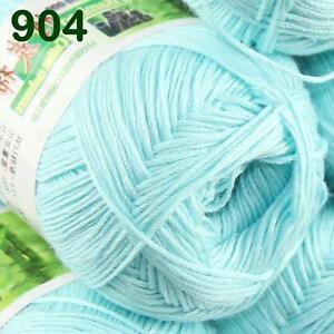 Sale-New-1ballX50g-Soft-Baby-Socks-Natural-Smooth-Bamboo-Cotton-Knitting-Yarn-04