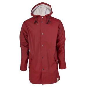 Details zu TRETORN Damen PU Regenmantel Friesennerz WINGS Oak rot Regenjacke Gr. S XL