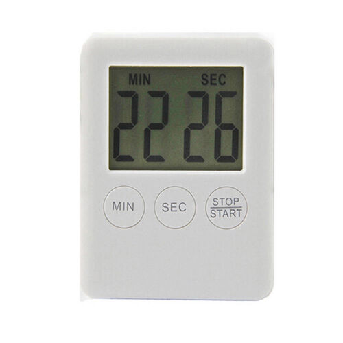Large LCD Digital Cooking Timer Alarm Magnetic Count Down Up Kitchen Egg Clock