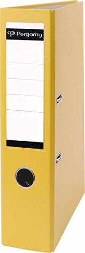 Pergamy Ordner PP 7.5cm A4 gelb