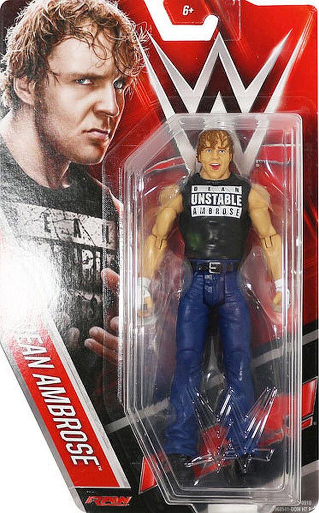 Wwe Dean Ambrose T-Shirt Eingang Mattel Basic Serie 61 Wrestling Actionfigur