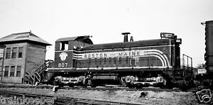 #1174 Rebuild @ ALCo Schenectady Boston /& Maine B/&M Color Print