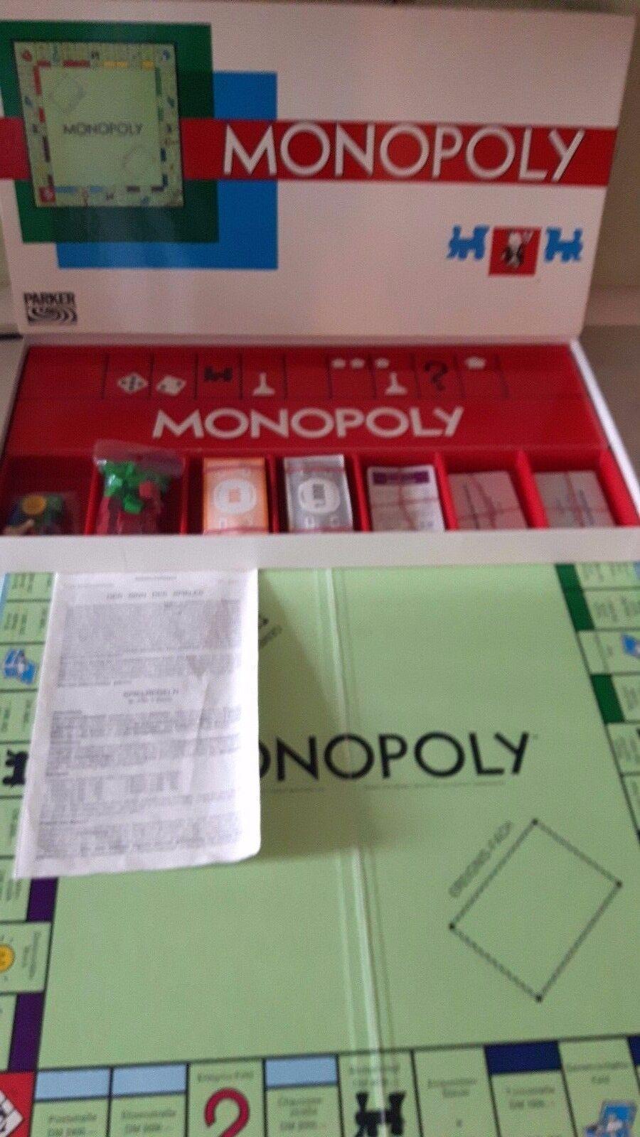 Monopoly Brettspiel mit Metallspielfiguren  Ausgabe  Lange Ausgabe  ca6f65