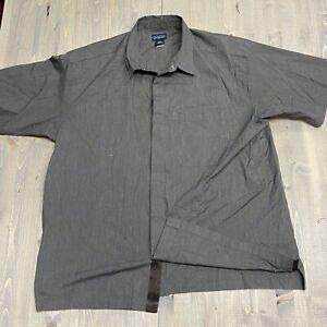 Patagonia-Short-Sleeve-Comfort-Stretch-short-sleeve-Shirt-Men-039-s-XL-button-snap