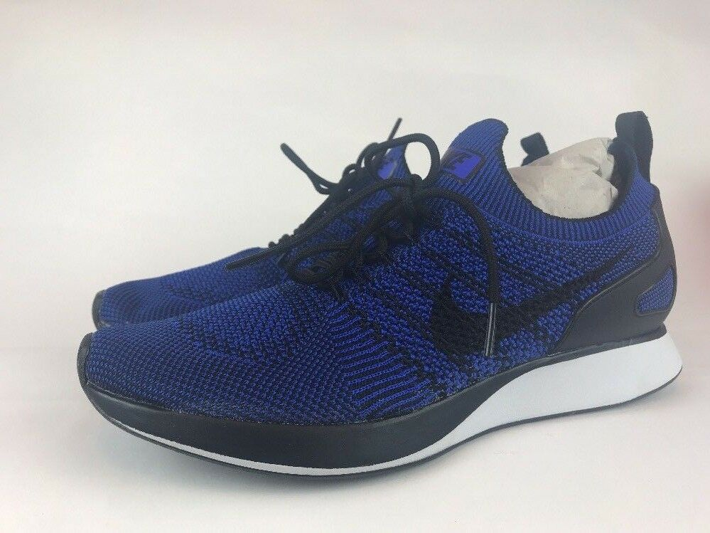 Nike Air Zoom Mariah Flyknit Racer Uomo Size 9.5 Royal Blue Running 918264 007