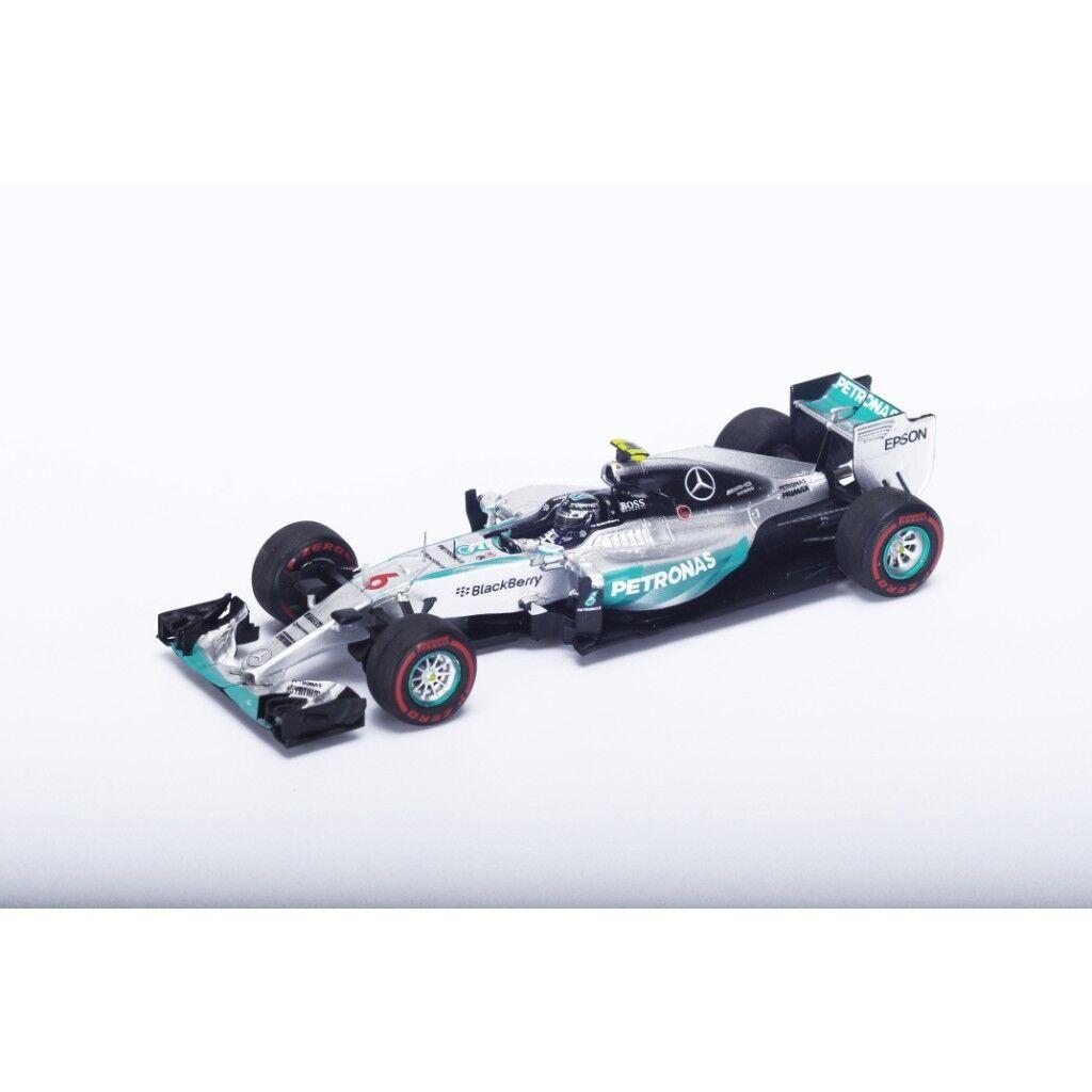 1/43 MERCEDES AMG F1 W06 ibrido WINNER MONACO GRAND PRIX 2015 N. Rosberg