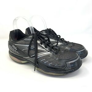 Skechers Shape Ups Toners Black Silver Athletic Sneaker