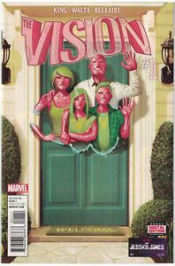 2016-VISION-1-First-Print-1st-Viv-Tom-King-Rare